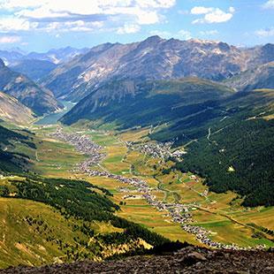 Passo della Forcola und Passo del Bernina