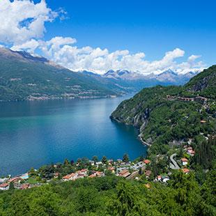 Von Canzo zum Monte San Primo