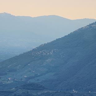 Die Bezwingung des Monte Scalambra von Fiuggi aus