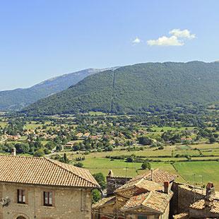 Von Fiuggi zu den Monti Simbruini