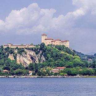 Rocca di Angera und der Unesco-Welterbestätten